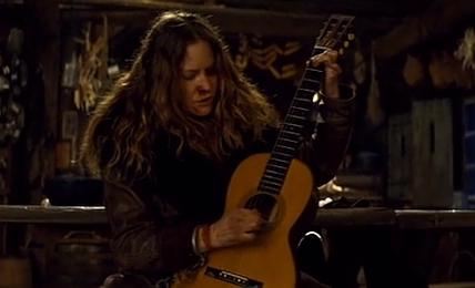 Les Huit Salopards : La guitare brisée etait authentique