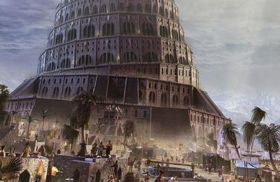 Image du jour : Premier Bunker de l'Histoire - La tour de Babel