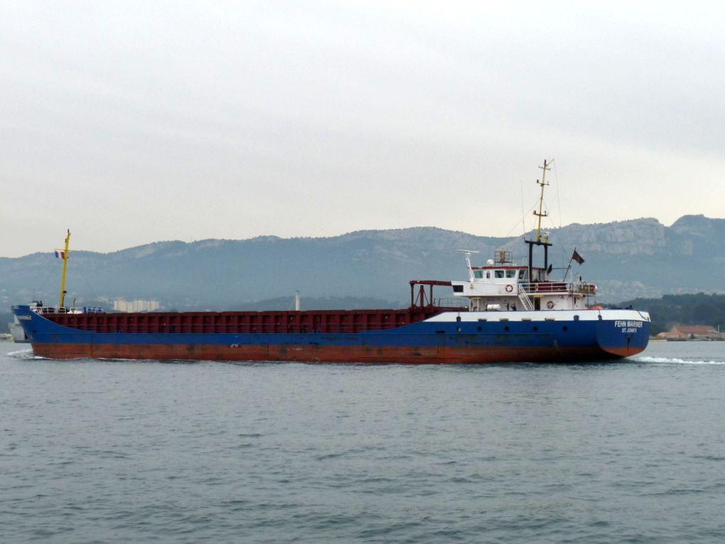 FEHN MARINER , arrivant à Toulon / Brégaillon le 06 février 2015