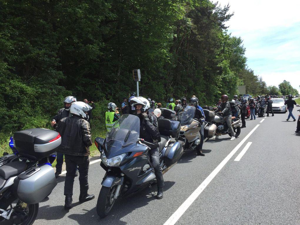 Manifestation à Rodez