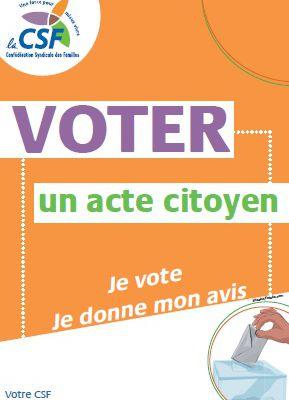 Elections régionales et départementales,