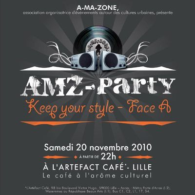 AMZ-Party - Keep your style - Face A