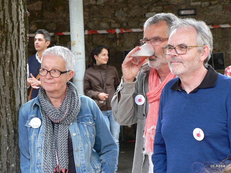 WE du 11 et 12 juin 2016, dans la cour du Dix, butte Ste Anne, Nantes.
