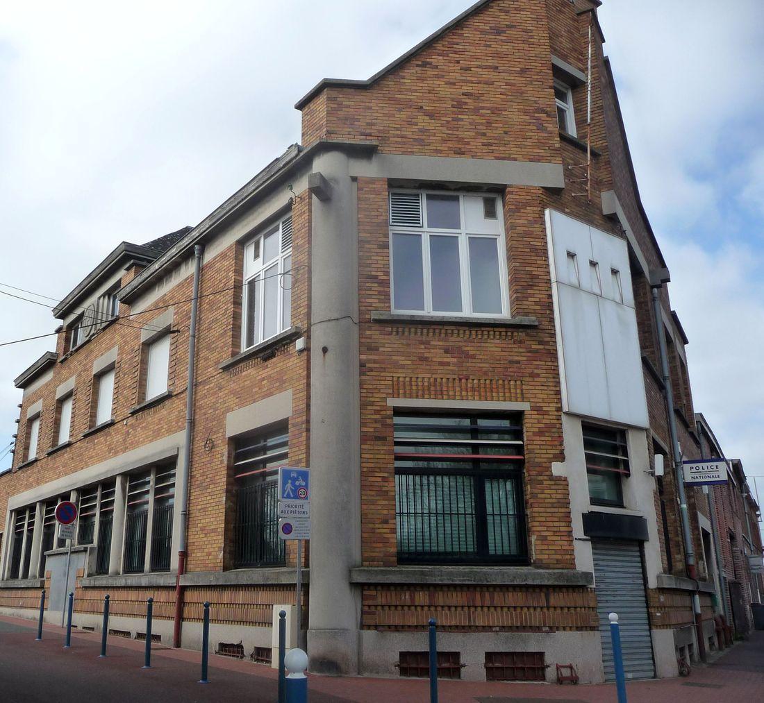 Commissariat de Police d'Halluin, rue de Lille - Avril 2021.