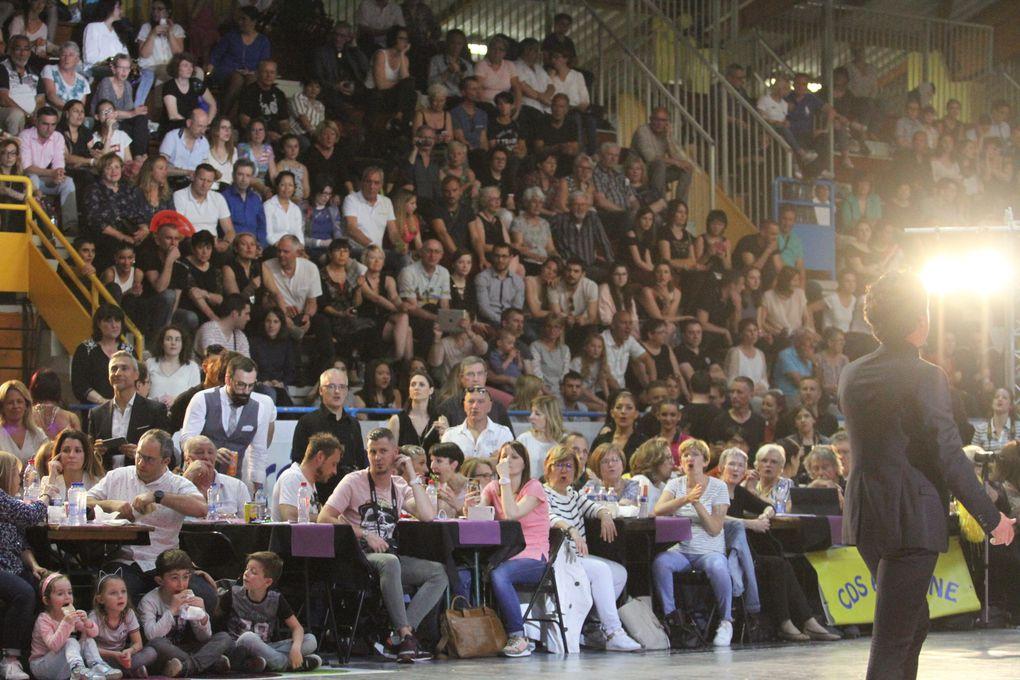 Affluence record au gymnase Jacques Anquetil pour le championnat de France de danses latines