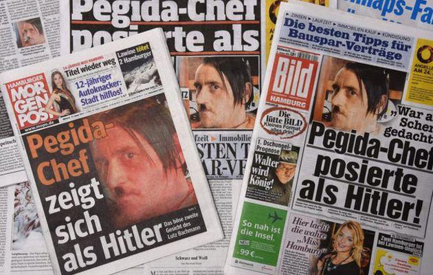 Déguisé en Hitler, le leader de Pegida démissionne