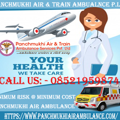 Air Ambulance Service in Patna-Great Medical Help Available