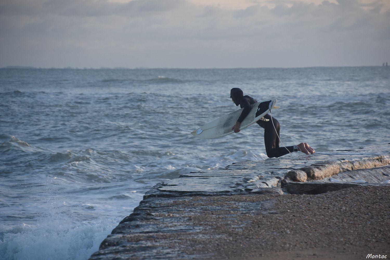 Surf à la barre d'Etel