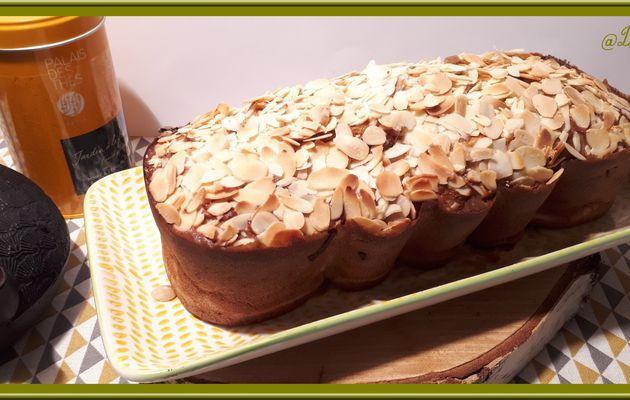 Cake aux poires et amande
