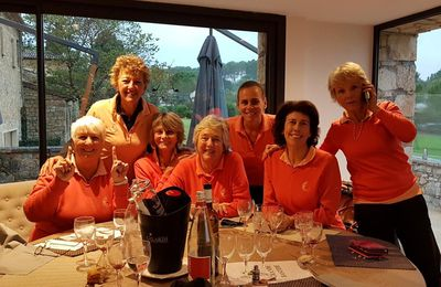 2019 Finale du French Ladies Riviéra au Golf Club de Mougins