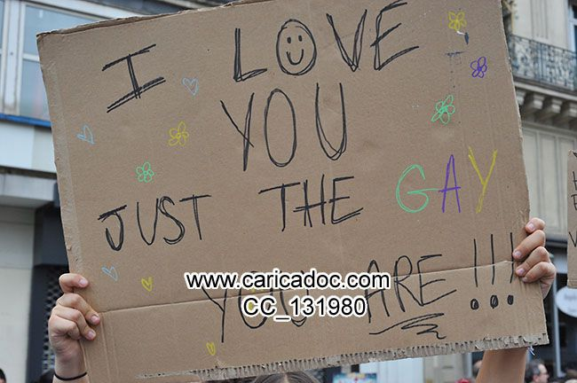 I love you just the gay ou are !!!