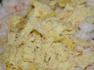 Curry rouge de poulet & riz thaï végétarien