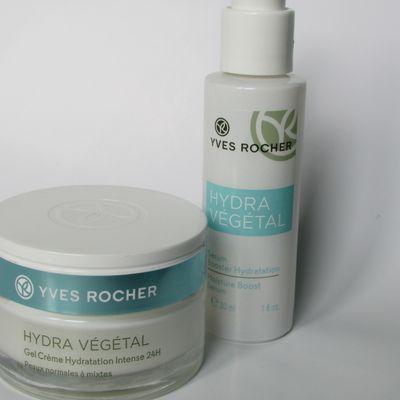 "La gamme de soins ""Hydra Végétal"" - Yves Rocher"
