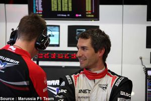 Timo Glock quitte Marussia