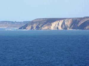 - Vers 10 heures 30 les premiers atteignent la pointe de Luguénez...