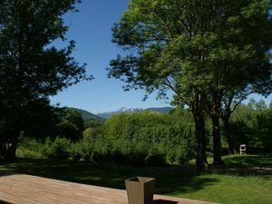 vue pyrenees, lac