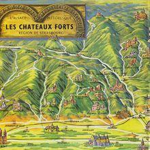 Dépliant 'Châteaux Forts de nos Vosges'