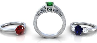 Wear Fine Ruby Engagement Ring to Celebrate Your Joyous Occasion