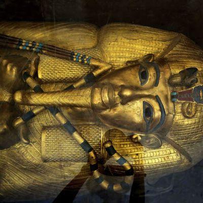 La première restauration du sarcophage de Toutankhamon depuis 1922