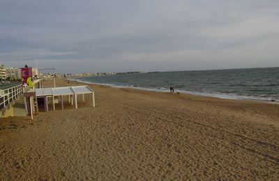 La jumelle des Sables d'Olonne...La plage de La Baule !