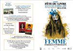 """Fête du livre , Belleme 12 et 13 Octobre """"Femmes, Paroles et Portraits"""" organisée par Agora"""