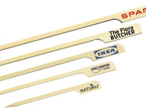 Pique bambou brochette alimentaire personnalisé