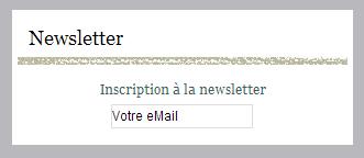 Abonnement Newsletter gratuite