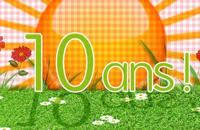 Les 10 ANS du blog - Les Gagnantes -