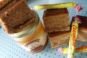 Gâteau aux Carambars et au caramel au beurre salé