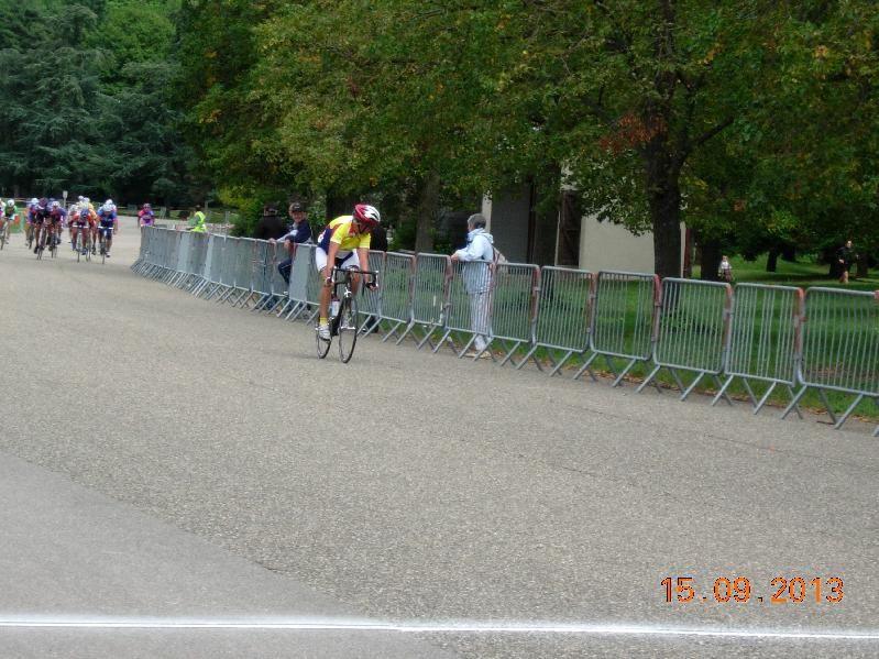 Grand Prix Cycliste de la Ville de Vénissieux.  Epreuve FSGT Dimanche 15 septembre 2013. Organisé par les 3 clubs Vénissians