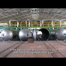 100TPD large scale palm oil processing machine in malaysia