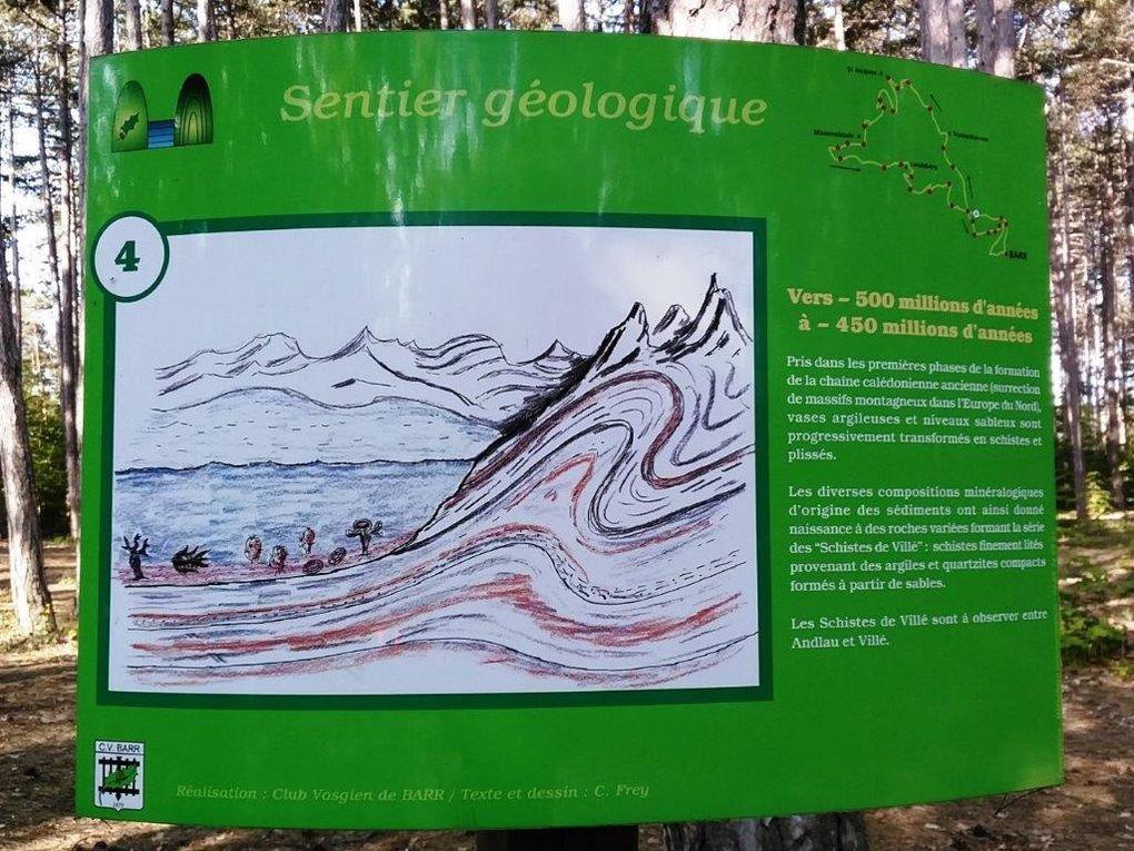 C'était le 6 juin, randonnée sur le sentier géologique de Barr