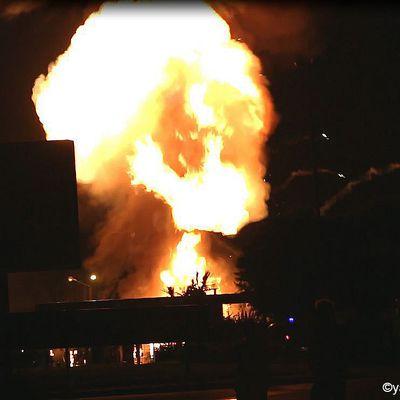 Explosions à la Station Essence de l'Hyper U de Plancoët : La vidéo complète.