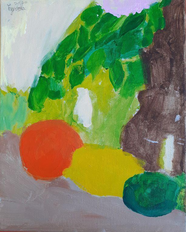 Peintures /Dessins (Ados, Enfants) de l'Atelier 2019-2020