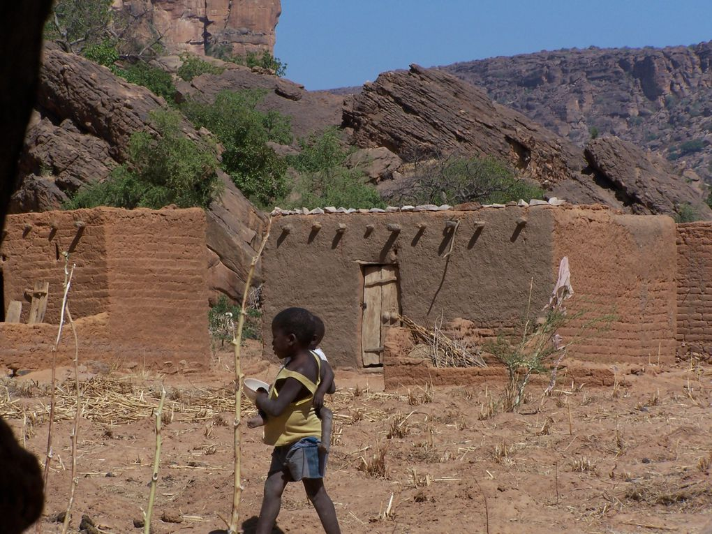 Fin de notre périple, villages et marchés ...