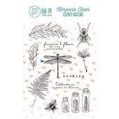 Tampons clear Herbier - HA PI Little Fox