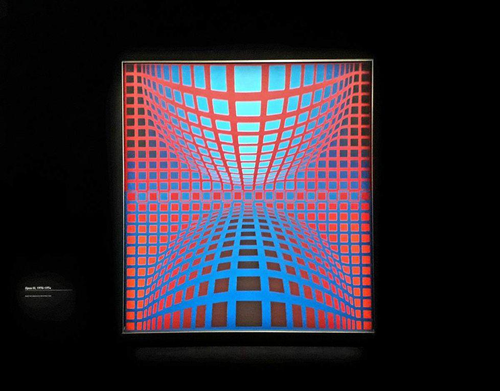 Rétrospective Vasarely au Centre Georges Pompidou