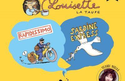 Louisette la taupe [BD sonore], Bruno Heitz, Trois petits points, Novembre 2015