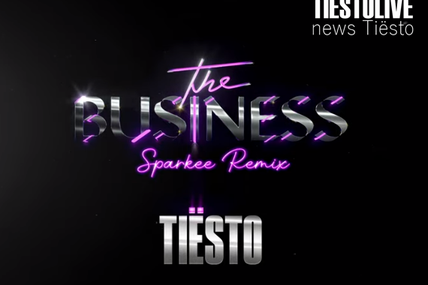 Tiësto - The Business | Sparkee Music, is the winnner of remix contest