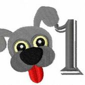 Dog 2018 free embroidery design 1