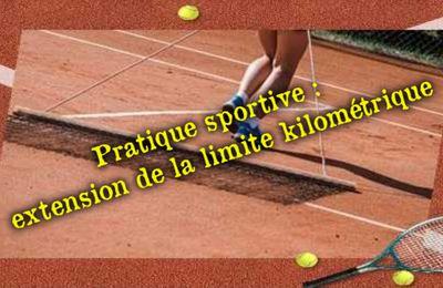 Pratique sportive : extension de la limite kilométrique