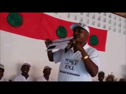 Campagne pour le OUI au referendum constitutionnel: Le FNL était à Ruyigi ce jeudi 10 mai 2018