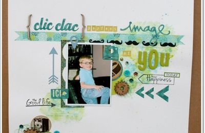 Page { Clic-Clac } Perfect Image of YOU