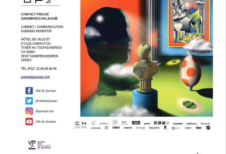 Samedi 3 juillet, Nuit européenne des musées. Le programme à Quimper (communiqué)