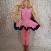 tuto gratuit barbie: robe dansante - Chez Laramicelle