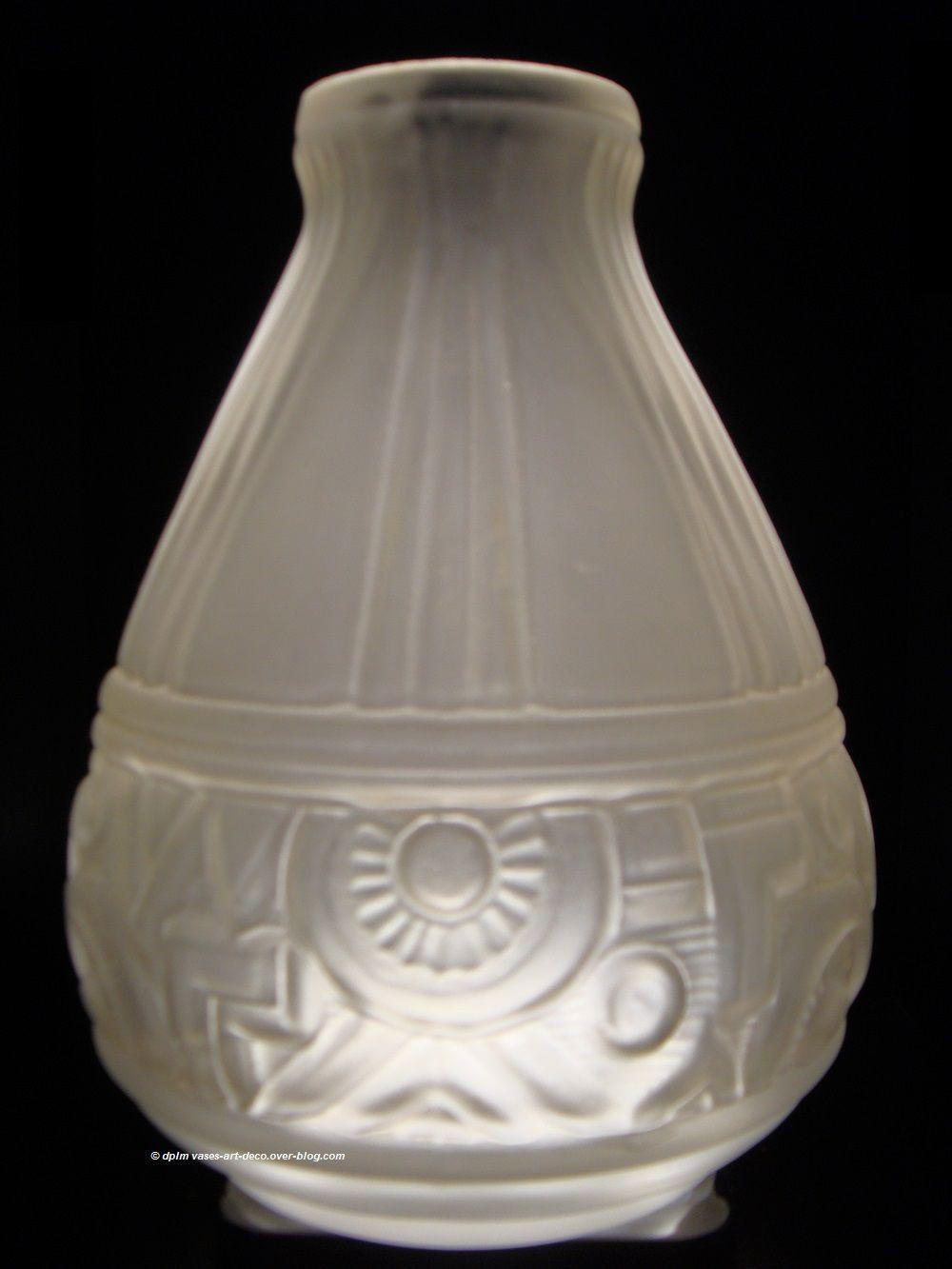 """Vase """"Sète"""" blanc satiné"""
