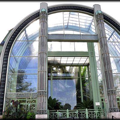Les Serres Tropicales du Jardin des Plantes à Paris