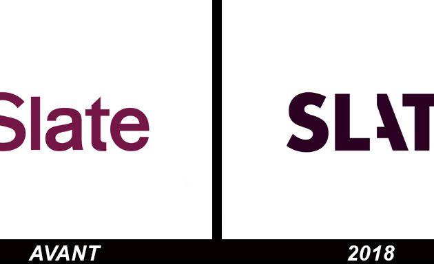 Branding : Changement de logo pour le média SLATE
