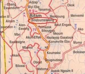 Le village Bindoumessang du canton Koum à Bitam et ses Mvôkh