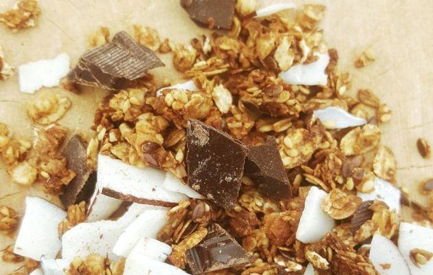 Granola Chocolat noir & Noix de coco